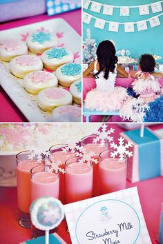 """Glam SnowGirls"" Holiday Dessert Party"