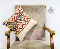 Decorative Nomad Art  Embroidered White Sofa by AnatoliaCollection