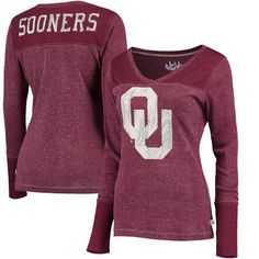Activewear Tops Modest Colosseum Oklahoma Sooners Full Zip Athletic Jacket Womens Small Excellent