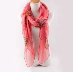 Hey, I found this really awesome Etsy listing at https://www.etsy.com/listing/185844241/cute-owl-scarf-large-voile-scarf-spring