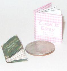 Free miniature books to print and make