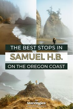 Samuel H Boardman State Scenic Corridor is one of the most beautiful places in Oregon. Save this to read the ultimate guide to Samuel H Boardman, including hiking trails, viewpoints, and getting to the iconic Natural Bridges for an epic oregon coast road trip. #Oregon #samuelhboardman #oregoncoast #Roadtrip #hiking #PNW #pacificnorthwest #travel #USAtravel #usa #photography #sunset