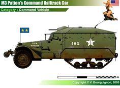 Patton's M3 Command Vehicle