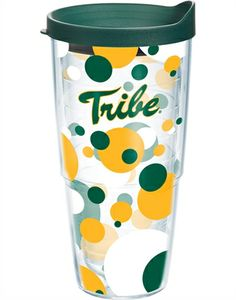 Collegiate | College of William and Mary | Polka Dot Wrap with Lid | Tumblers, Mugs, Cups | Tervis