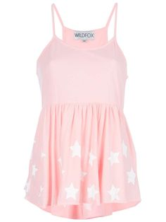 Wildfox 'Star Is Born' vest top | OMG It's Pink | style | fashion | #womens #love #top #wantering http://www.wantering.com/womens-clothing-item/star-is-born-vest-top/ab9LI/