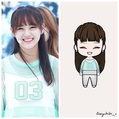 SEJEONG - GUGUDAN . . ♥ BEĞEN~YORUM YAP~KAYDET ♥ . İstek:@tbf_somsomi03 . #itsmychibixgugudanposts . . #oppadoll #unniedoll .… Red Velvet Irene, Shinee, Chibi, Fanart, Idol, Teen, Cartoon, Anime, Instagram