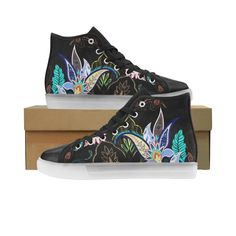 Paisley Pattern Honey Custom Light Up Men's Shoes. Turn The Lights Off, Light Up Shoes, Different Light, Custom Lighting, Paisley Pattern, Men S Shoes, High Top Sneakers, Honey, How To Wear