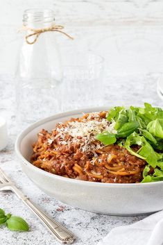 Spaghetti bolognese is a classic quick and easy weeknight meal. Is it a regular in your household? This version is my everyday recipe plus a few extra veggies. Beef Recipes, Chicken Recipes, Recipe Cover, Bolognese Recipe, Spaghetti Bolognese, Easy Weeknight Meals, Everyday Food, Perfect Food