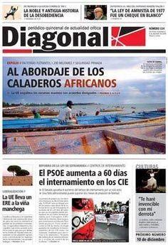 Diagonal.es. Medio de comunicación crítico e independiente, sin directores ni jefes, sustentado sobre la base de miles de suscripciones.
