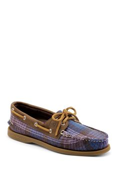 Sperry Top-Sider A-O Plaid Boat Shoe  Lace-upWomen #Shoes
