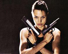 Angelina Jolie • tomb raider