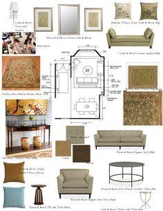Presentation Board Interior Designers Samples