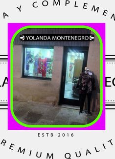 #Celanova #Cartelle #Padrenda #Ribadavia #Avión #Barbadas #Allariz #Maceda #XinzodeLimia #Verin #Bande #Luintra #Lobios #Maside #AMerca #Boborás #OCarballiño #Toen #Ourense #Galicia #España #love #fashion #navidad  Visitanos y sorprendete con nuestras propuestas. YOLANDA MONTENEGRO MODAS Plaza Mayor, 7 - Celanova