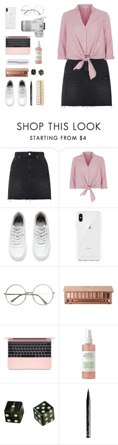 """""""&&; H E L I X"""" by kicking-up-daisies ❤ liked on Polyvore featuring Miss Selfridge, River Island, H&M, Rebecca Minkoff, Urban Decay, Eos, Mario Badescu Skin Care, The Body Shop, NYX and country"""