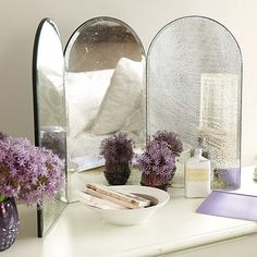 Paris Folding Mirror - must have for my vanity