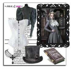 """""""ATOMIC JANE"""" by atomic-jane ❤ liked on Polyvore featuring Move, 1928, women's clothing, women, female, woman, misses, juniors, corset and victorian"""