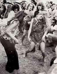 Dancing and feelin it in the groovy far out happenin way