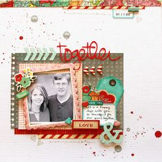 deb duty {photography + scrapbooking}: crate paper: love red