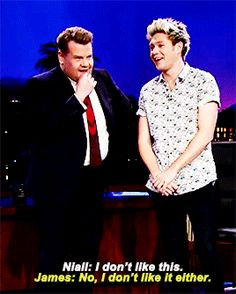 Niall Horan | The Late Late Show with James Corden | Tattoo Roulette