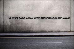 Mobstr: A Bit of Paint, London #streetart