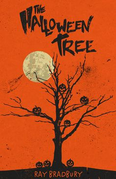 Poster by Matt Peppler Art (Etsy) inspired by Ray Bradbury's novel, 'The Halloween Tree'.