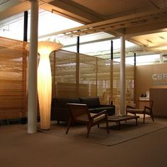 Wood screen / CBRE Sydney Office Fitout - bottegatokyo