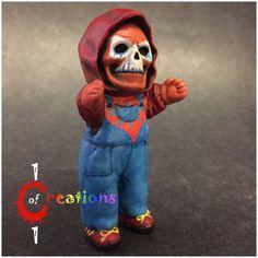 SkelePatchKid (Beast Man) (Masters of the Universe) Custom Miniature / Figurine