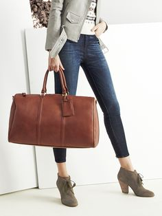 Travel style | Sole Society Lacie weekender & Tallie booties