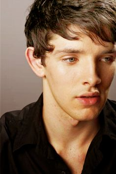 Colin Morgan of Merlin. This guy has the most incredible smile I have EVER seen.