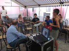 Emanuela parla della coltivazione di Luppoli presso l'Az. Agr. I-RIbes di Cherasco