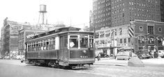 Chicago 1940s Surface Line Streetcar