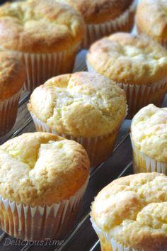 Muffiny z białym serem