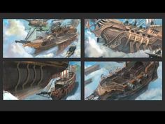 ArtStation - PROJECT: PIRATES, kalen chock