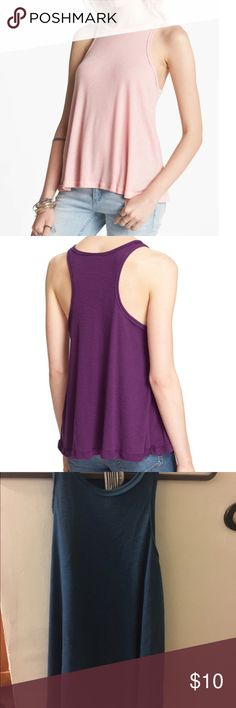 Free People 'Long Beach' tank as pictured!! But in the blue color! Worn once Free People Tops Tank Tops