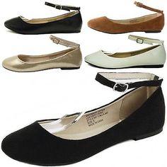 784f70729c38 AlpineSwiss Calla Womens Ballet Flats Ankle Strap Shoe Classic Ballerina  Slipper