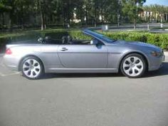 2007 BMW 650i Convertible.