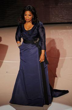 Oprah Winfrey Evening Dress