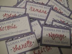 name tags recruitment