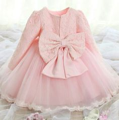 Couture Pink and Pretty Lace Dress flower girl by NikkiKatebyJB