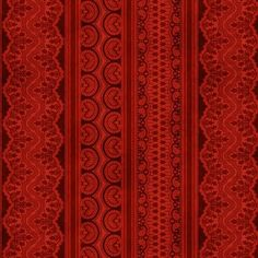 Wilmington Holiday Magic by Lisa Audit Red Lace Ticking Stripe