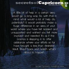 Hey Capricorn, follow us for horoscopes every day!