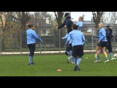 VIDEO: What happens when you chest-bump with Abby Wambach. (U.S. Soccer)