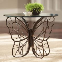 Monarch Butterfly Side Table   Love This So Want It.