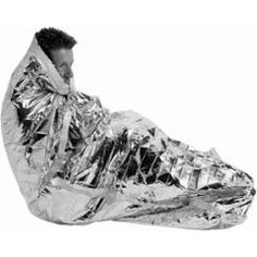 Emergency Sleeping Bag - emergency only, but could make a difference.