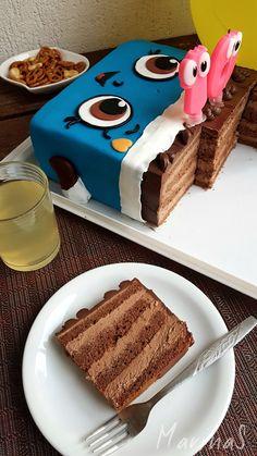 Torte Recepti, Kolaci I Torte, Baking Recipes, Cake Recipes, Dessert Recipes, Bread Recipes, Chocolate Desserts, Chocolate Cake, Birthday Drip Cake