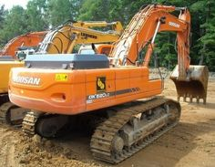 Click On The Above Picture To Download Daewoo Doosan Dx480lc, Dx520lc Excavator Service Shop Repair Manual