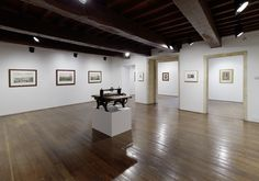 Casa de Oviedo-Portal, sala 12: gabinete de estampas. Fotografía: Marcos Morilla.