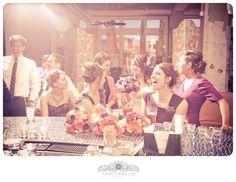St. Louis Wedding Photography / Wedding Party Portrait / Bar @Plush  Tracy Wallin Photography