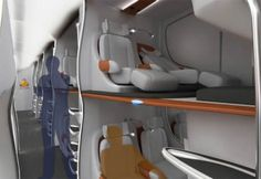 Future of Airplane Cabin Design makes me want to fly again | Helablog
