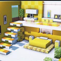 Minecraft Cottage, Modern Minecraft Houses, Minecraft Mansion, Minecraft Room, Minecraft Blueprints, Minecraft Architecture, Minecraft Crafts, Minecraft Furniture, Minecraft Stuff